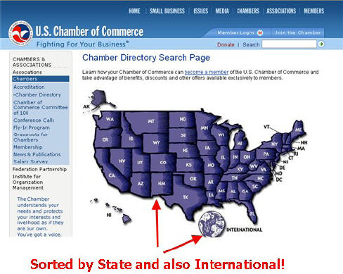 chamber of commerce site