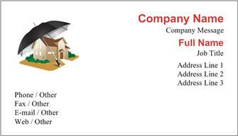 p&c business card