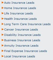 insurance leads